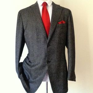 CANALI CASHMERE & WOOL MENS SPORTS JACKET SIZE 46R